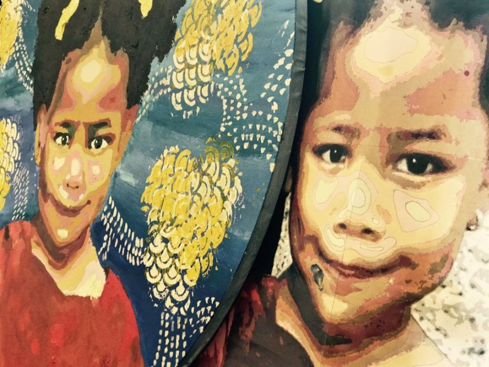 refugees painting