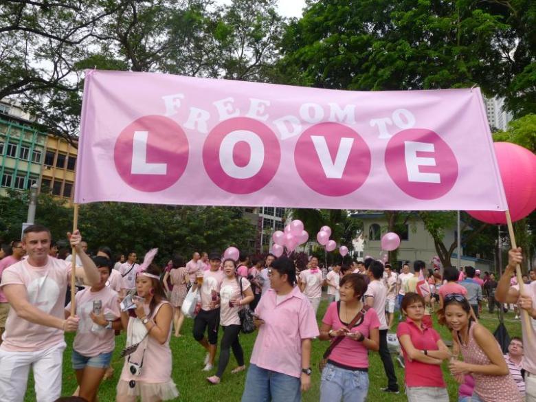 pink dot singapore