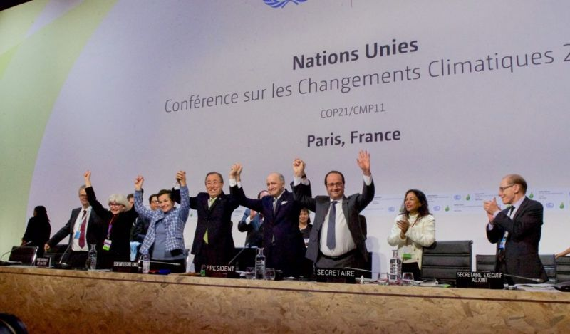 Paris climate agreement global warming pact