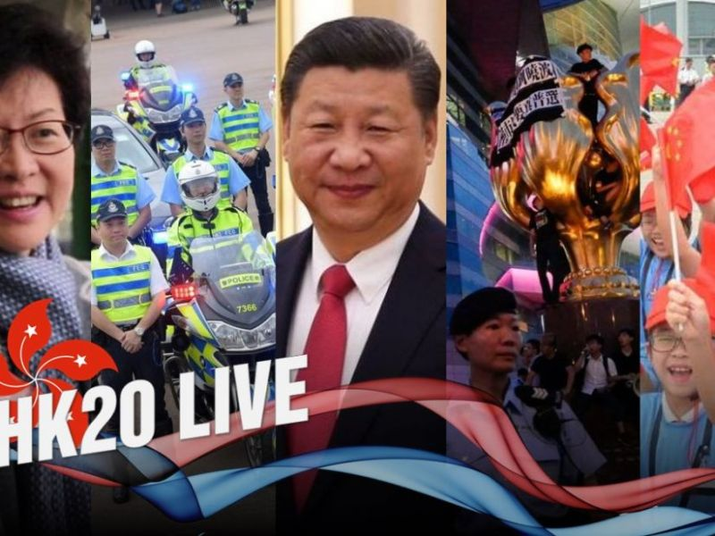 hong kong free press handover live