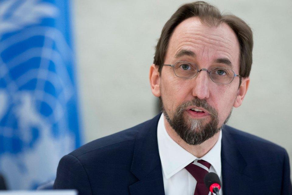 Zeid Ra'ad Al Hussein UN human rights