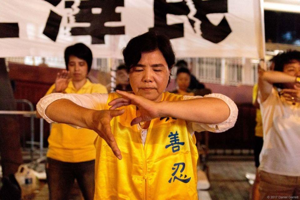 Falun Gong liu xiaobo democracy july protest rally wanchai wan chai