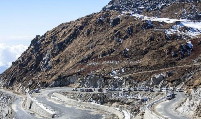 China India Border Nathula Nathu La Pass