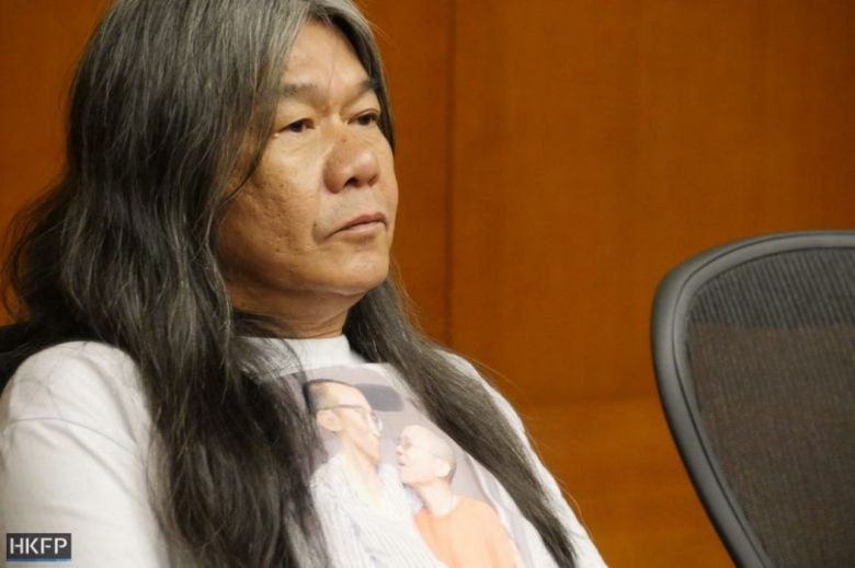 long hair leung kwok hung lawmaker DQ legco oath