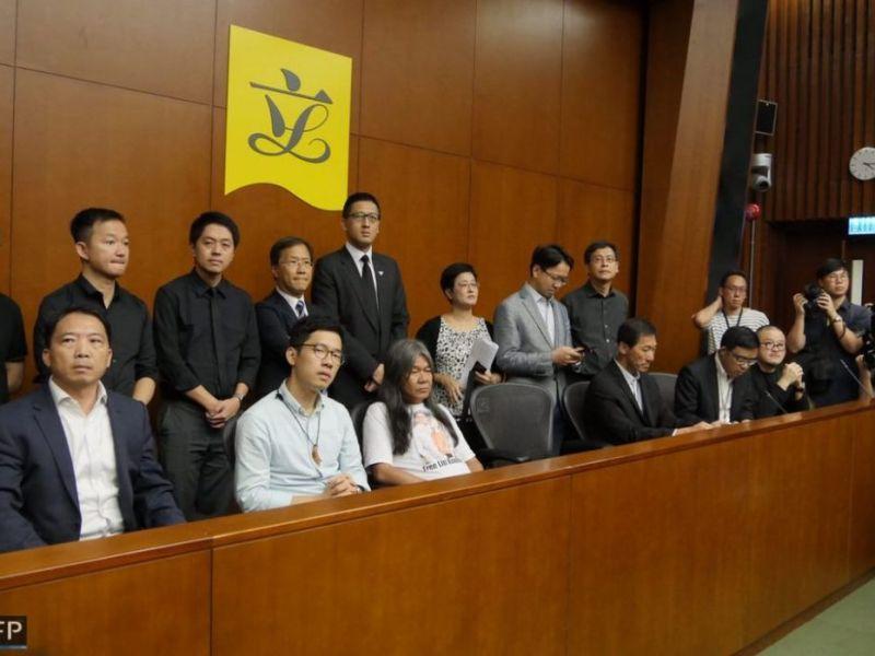 lawmaker DQ legco oath