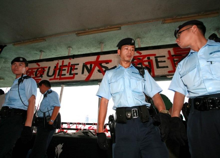 queen's pier police