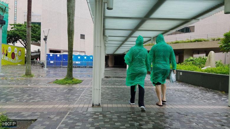 typhoon storm hato tsim sha tsui rain
