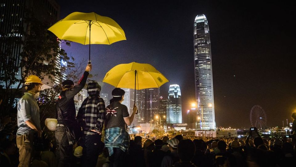 Umbrella Movement Occupy Hong Kong