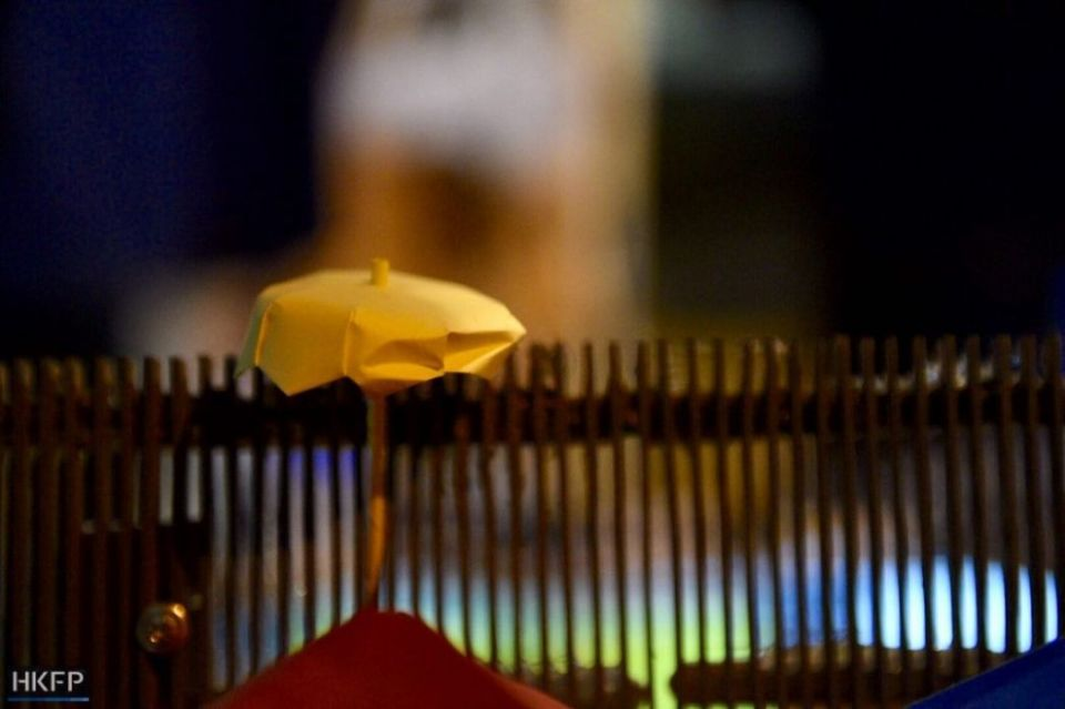occupy umbrella movement anniversary