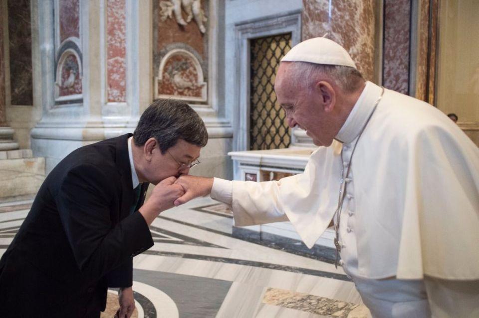 Chen Chien-Jen Pope Francis