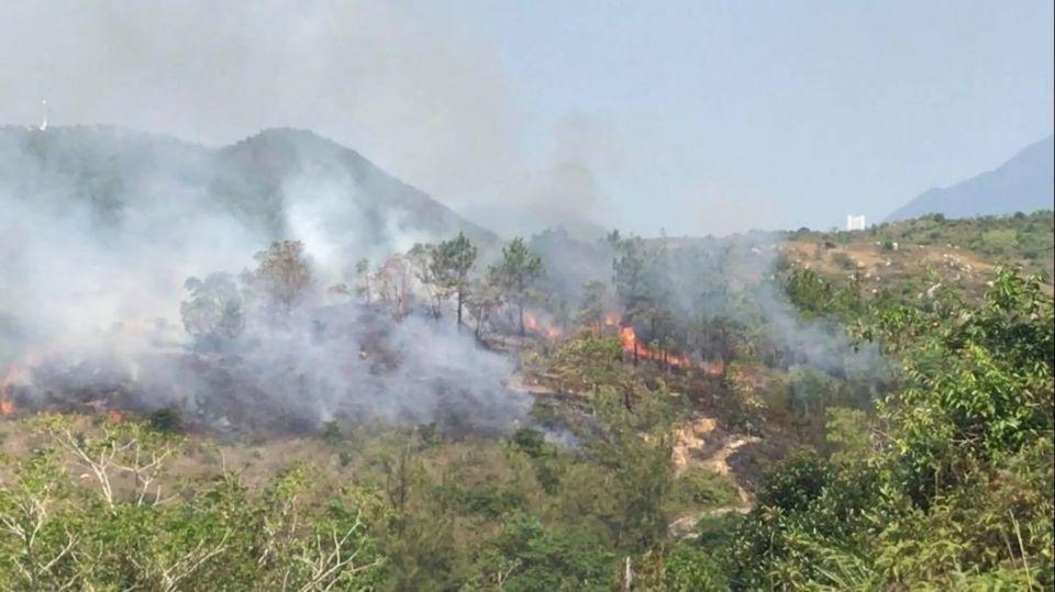 lamma hill fire