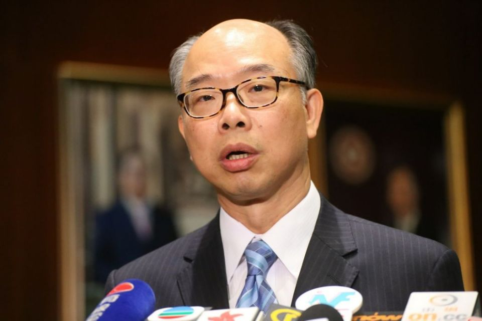 Housing and Transport Secretary Frank Chan