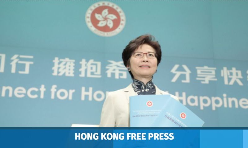 carrie lam policy address