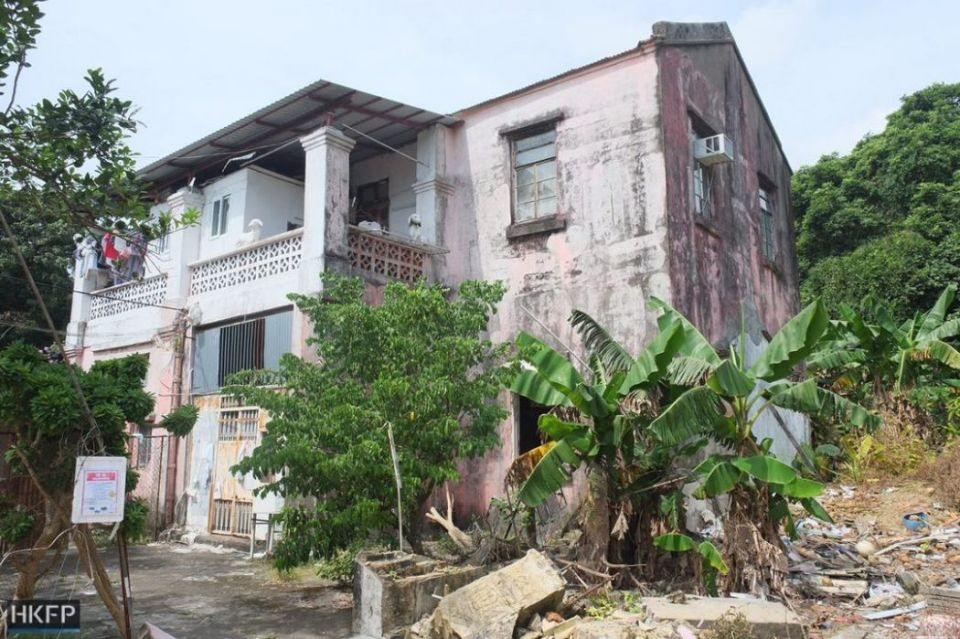 red house taiwan damage