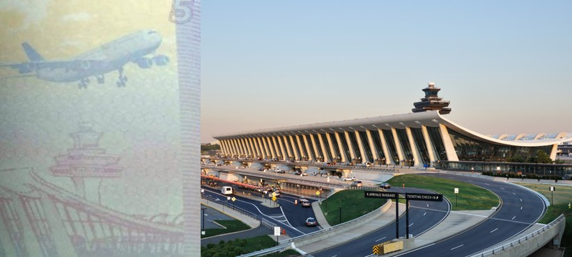 Washington's Dulles airport taiwan passport