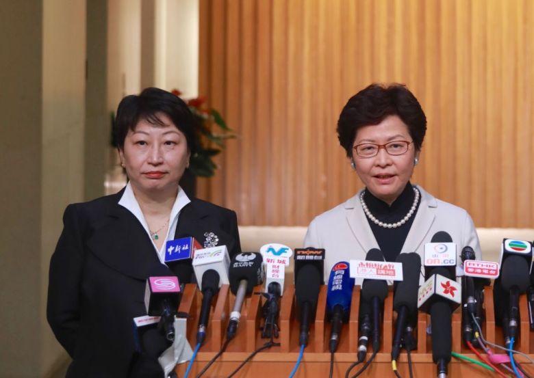 Teresa Cheng Carrie Lam