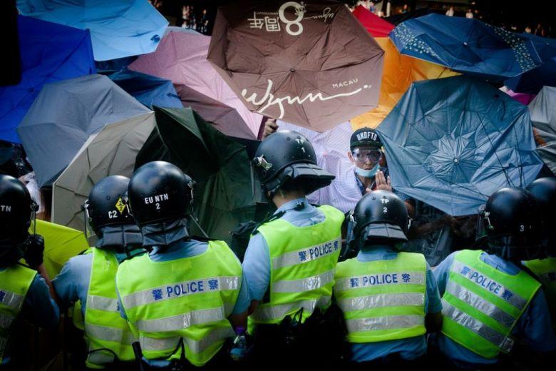 hong kong democracy occupy universal suffrage umbrella movement police