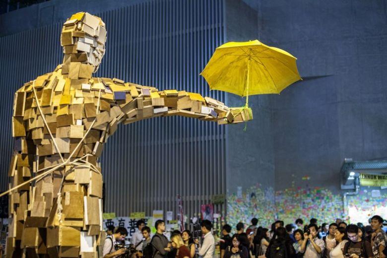 hong kong democracy occupy universal suffrage umbrella movement