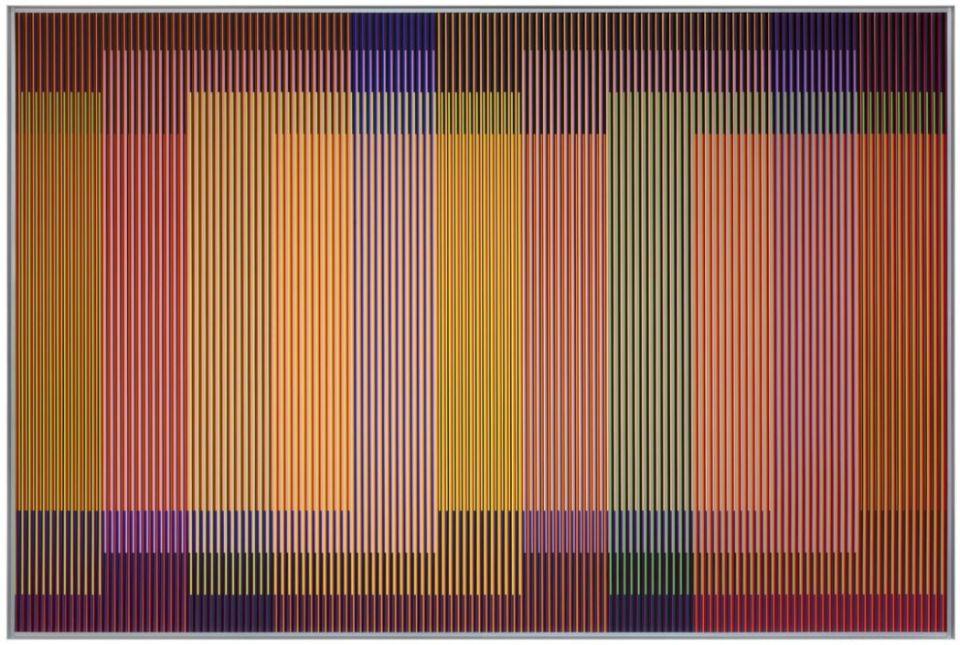 art central 2018 hong kong Carlos Cruz-Diez Physichromie 1928-2014.