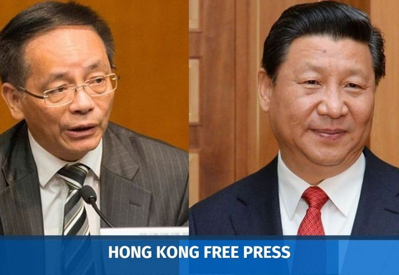 Ip Kwok-him Xi Jinping