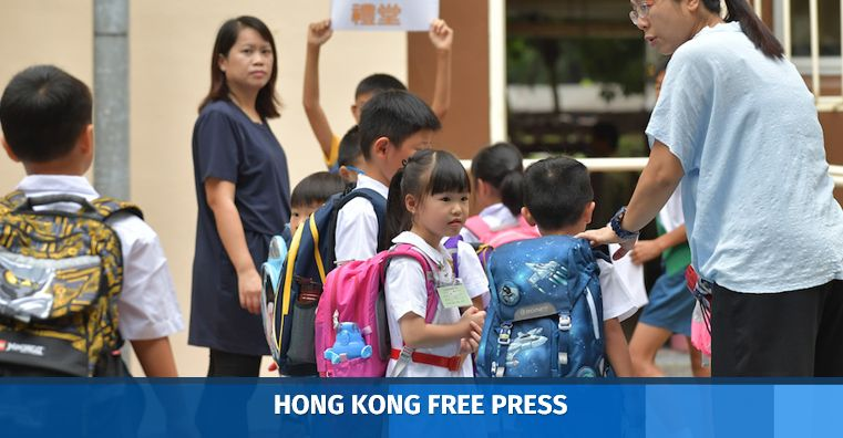 school students hong kong