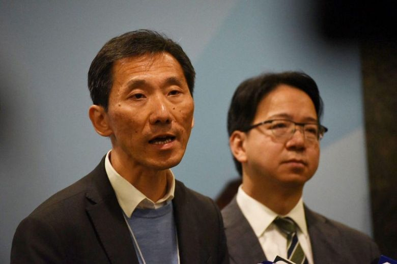 Edward Yiu and Charles Mok election