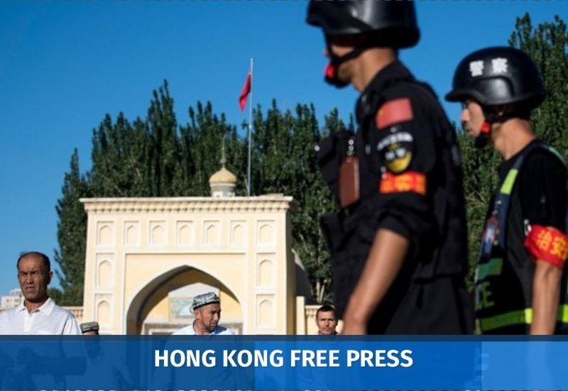 china xinjiang security