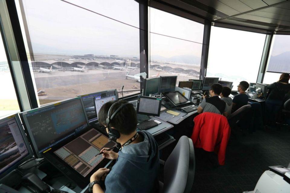 aviation hong kong control tower Q
