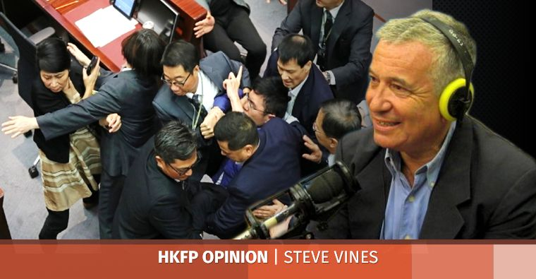 stunts legco steve vines