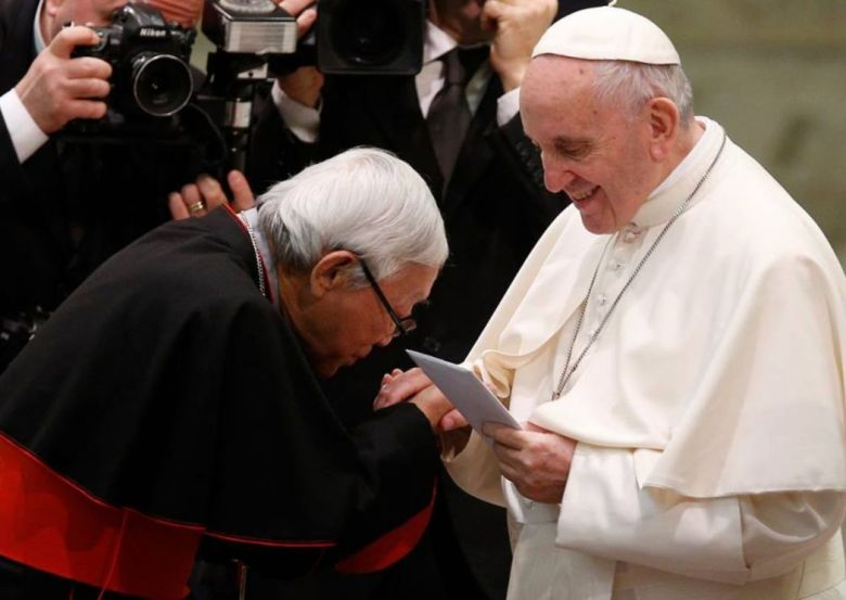 Cardinal Joseph Zen Pope Francis