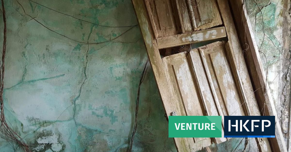 HKFP Venture: Sun-bleached Luk Chau village gives way to Lamma Island's encroaching jungle