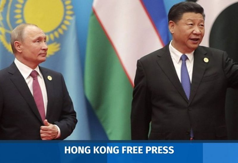 Russia's Vladimir Putin and China's Xi Jinping.