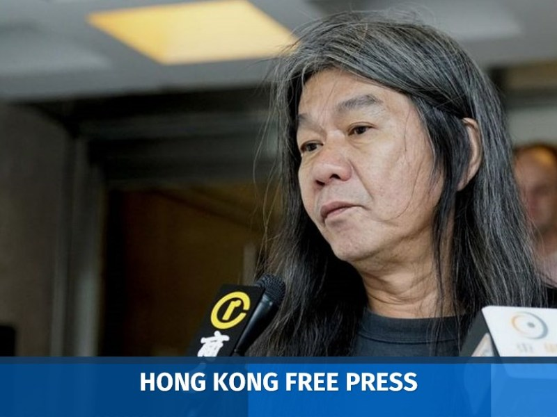 Leung Kwok-hung long hair