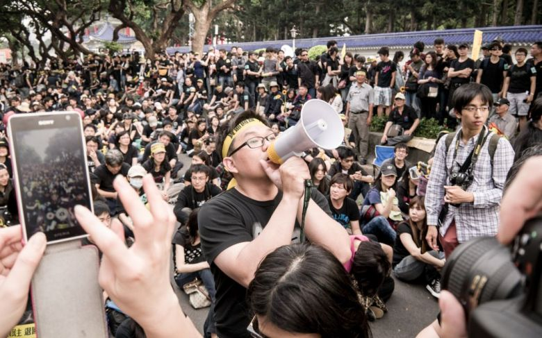 Sunflower movement Taiwan