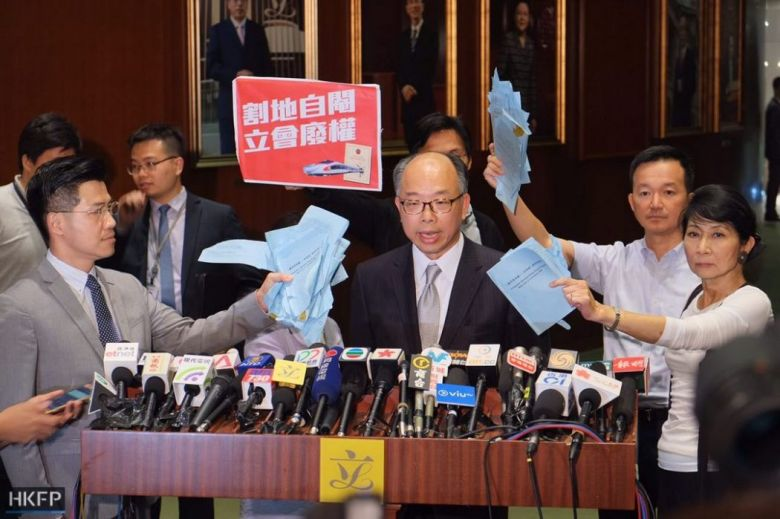 legco democrats  housing chief Frank Chan