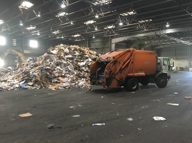 china usa waste pollution