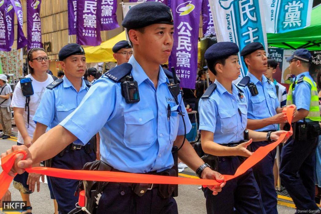 police july 1 protest democracy