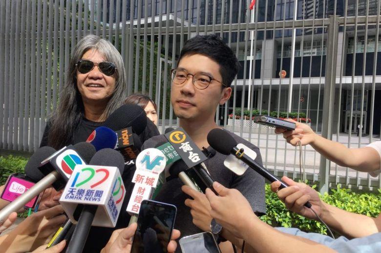 Leung Kwok-hung Nathan Law