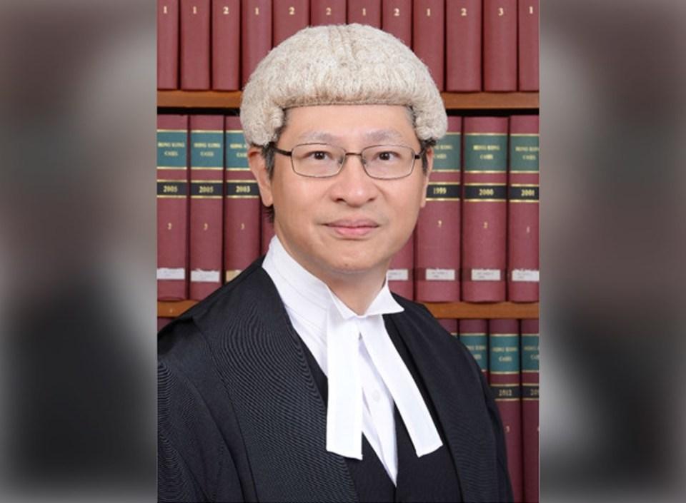 Judge Anderson Chow Ka-ming