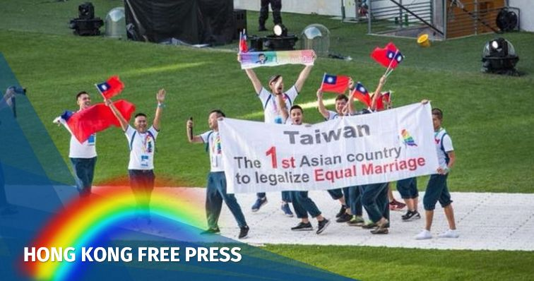 Taiwan flag gay games feature image