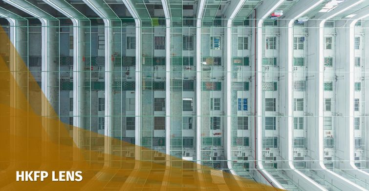 housing estate lens hong kong