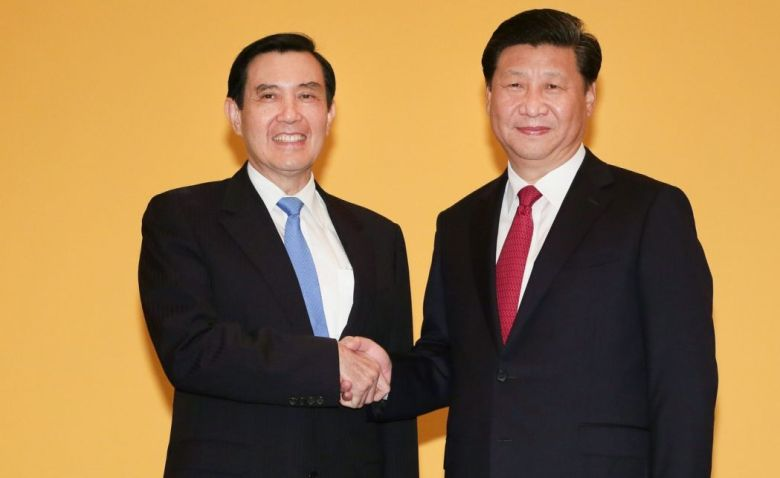 Ma Ying-jeou and Xi Jinping