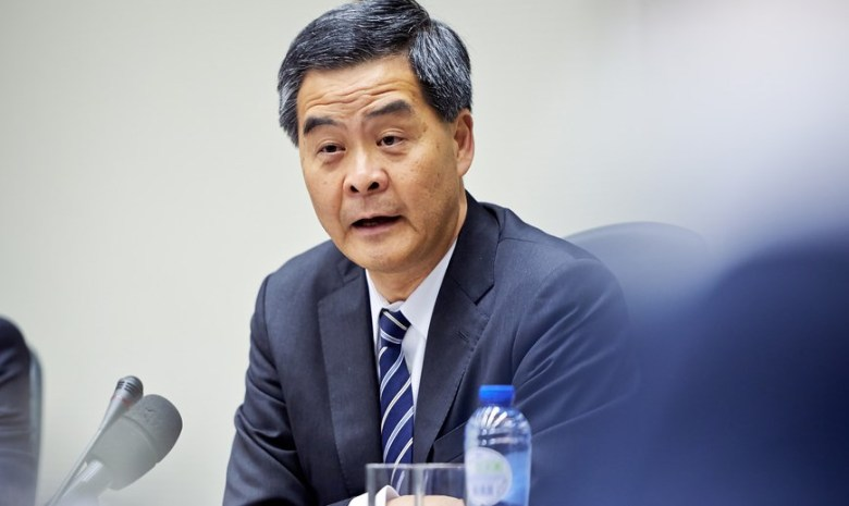 cy Leung Chun-ying