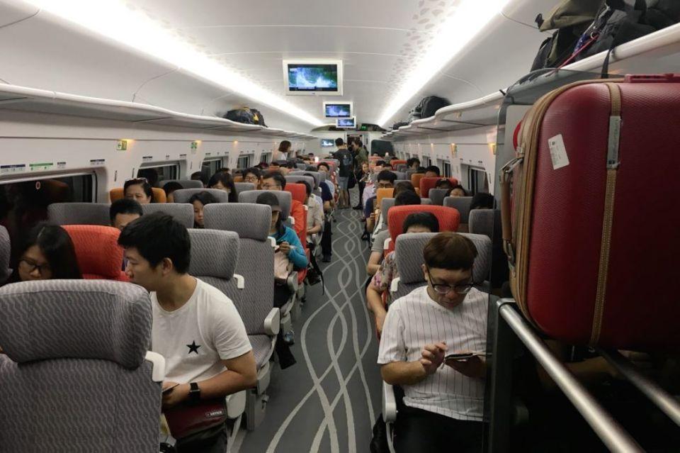 Express Rail Link train