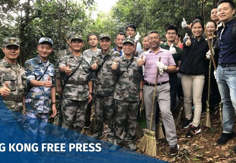 People's Liberation Army clean-up