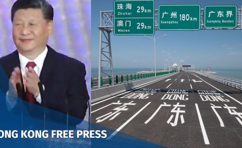 Macau Zhuhai bridge