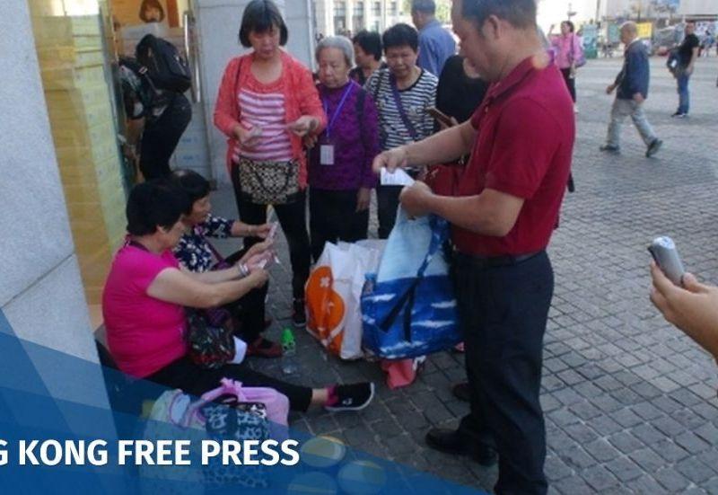 Tung Chung tourists
