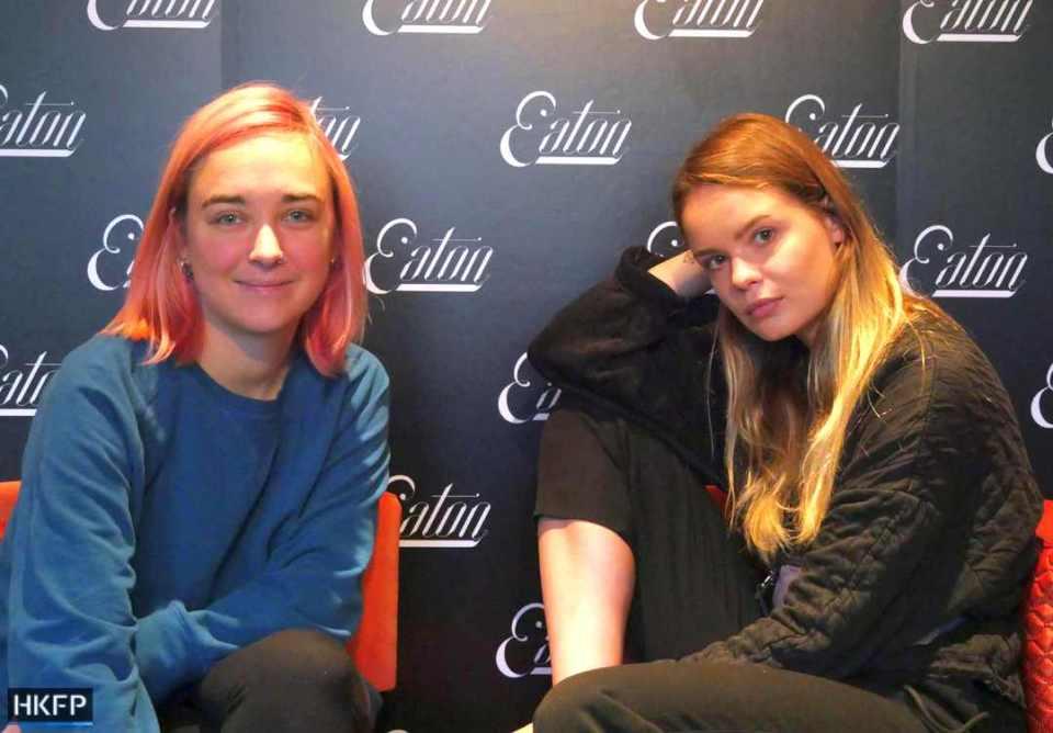 Olga Kurachyova (left), Veronika Nikulshina