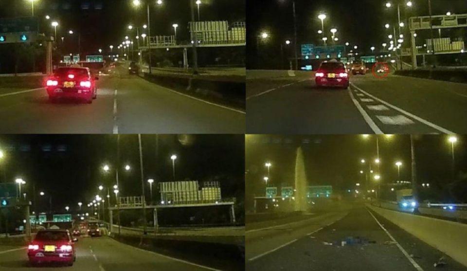 Tsing Sha Highway Tsing Yi island coach crash