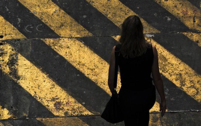 harrassment metoo sexual street woman silhouette